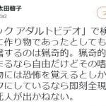 太田啓子弁護士が「真空パック アダルトビデオ」で検索した理由 ロックバンドのCDジャケットが原因か