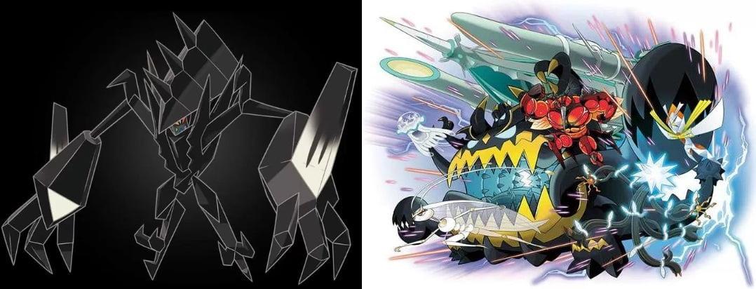 「ポケモン ウルトラサンムーン」ではネクロズマとあの2体が合体!? UBも関係してくる?