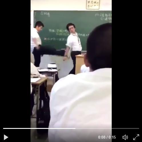 【動画】博多高校の教師暴行、加害生徒・梅野笙に過失100%と判明【ツイッター特定】