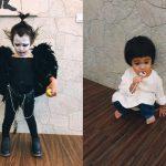 ハロウィンでカオナシ仮装をした台湾子供、今年はリュークコスプレを披露wwwww
