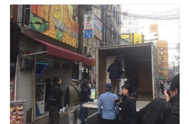 【朗報】大阪・日本橋「新世界アルカディア」、ついに摘発される 絶対に取れないクレーンゲームで一時期話題に