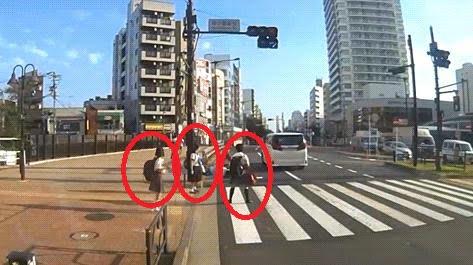 吉澤ひとみのドライブレコーダー動画に映ってる女子学生をネットメディアが直撃取材か