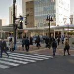 【地図】吉澤ひとみ ひき逃げ事故の現場特定