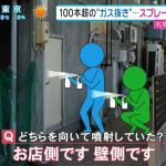 【速報】札幌爆発 スプレー120本すべて未使用と判明!「店長のみでやっていた」