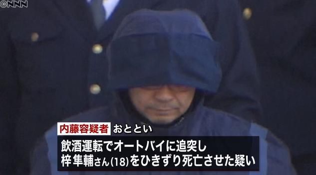 【浦安ひき逃げ】内藤健一容疑者逮捕!言い訳が酷すぎる
