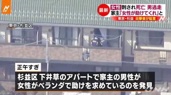 【速報】杉並区下井草殺人事件の被害女性は保育士・照井津久美さんと判明!