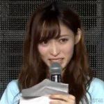 【動画】山口真帆は嘘泣き?「涙出てない」「喋り方が無理」との声も
