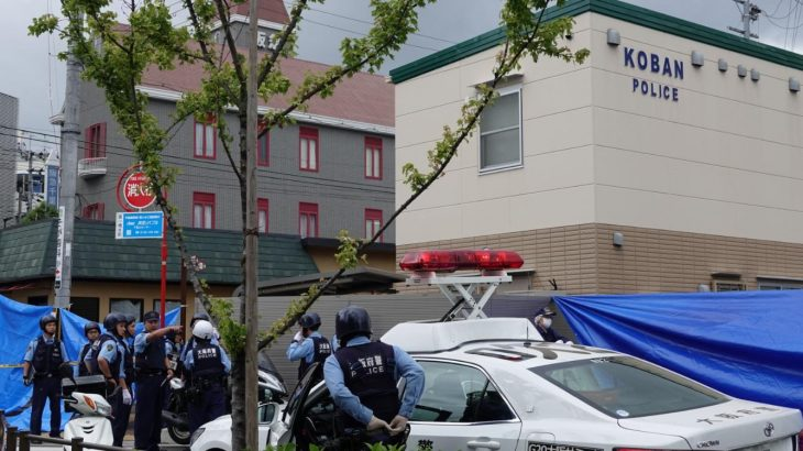 【速報】吹田市・千里山交番襲撃事件!犯人は逃走中