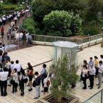 【社畜の列】台風15号で津田沼駅で大行列!コミケ並みの列になってしまう