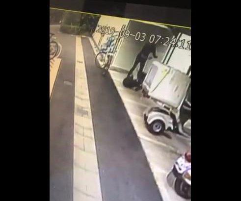 【悪質】人のバイク倒して逃走 犯人はホスト工藤聖夜だった!