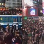 渋谷ハロウィン、2018と比べて2019の人は?ライブカメラ映像を比較