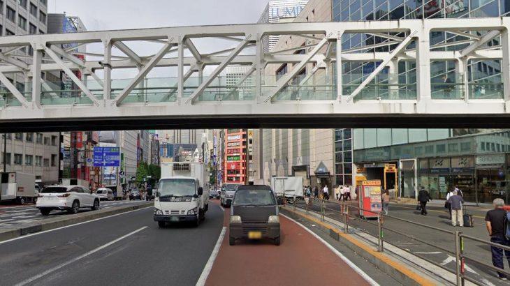 新宿駅南口の歩道橋で首吊り男性、搬送先の病院で死亡 30代、精神障害あった