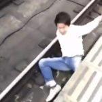 【続報】駅のホーム飛び移ろうとした男、奈良市役所道路建設課の職員と判明!