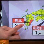 【放送事故】TBS、宮崎を熊本と紹介してしまう