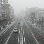 """【朗報】東京で雪、みぞれ!奇跡の""""ホワイトホワイトデー""""に"""