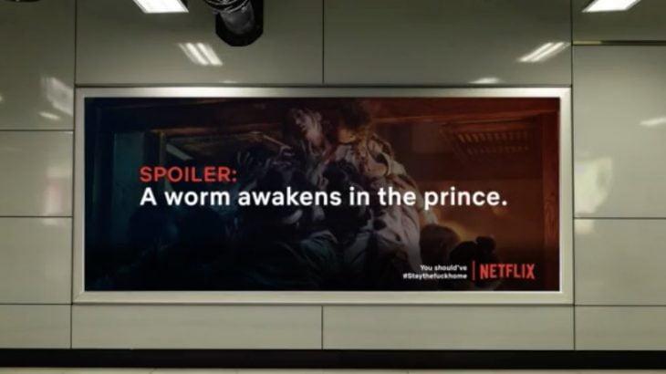 【新型コロナ】ネットフリックスをネタにしたネタバレ広告が面白い!外出自粛を守らせるクリエイティブなアイデア