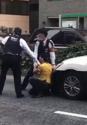 【炎上】クルド人に暴行した警官、ノーマスク指摘され逆ギレか 渋谷署前で抗議デモ「外国人を差別するな」