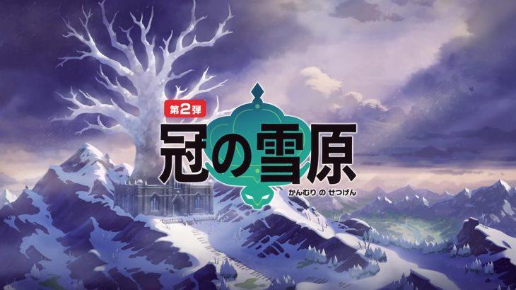 【噂】ポケモン剣盾エキスパンションパス「冠の雪原」内定リストが流出!?600族、伝説全解禁