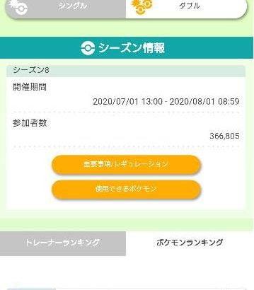 【ポケモンHOME】剣盾のレート使用率ランキングが1週間ぶりに更新!