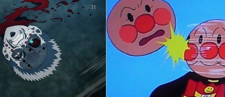 【これ】「鬼滅の刃は首がポンポン飛ぶアニメだけど、よく考えたらアンパンマンもじゃね?」