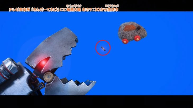 【モルカー8話】テディちゃんは軍用だった!?体内から爆弾を投下「最終兵器彼女かよ」
