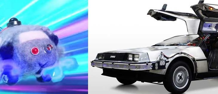 【予告】モルカー11話のタイムモルカー、完全にバック・トゥ・ザ・フューチャーのデロリアンだと話題に!