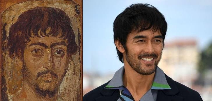 【話題】エジプトで発掘されたミイラの肖像画が阿部寛そっくりだと話題に!外国人も「Thermae Romae(テルマエ・ロマエ)本物ですか」と反応