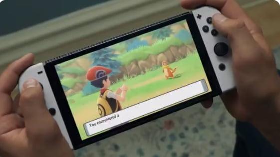 【朗報】新型SwitchのPVで4ヶ月ぶりにダイパリメイクのゲーム映像!トレーナーとポケモンとの幅が修正された?